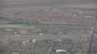 (HD1080i) California Desert: Palm Springs, Coachella Valley from Above, Pull