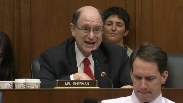 California Rep Brad Sherman tells Federal Reserve Chair Janet Yellen that God's plan is not for things to rise in the autumn Cautions that acting too...