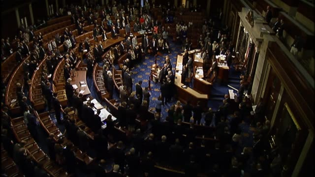 California Rep Duncan Hunter leads the House in a moment of silence for the 33 crew lost aboard the El Faro cargo ship which sank at sea during...