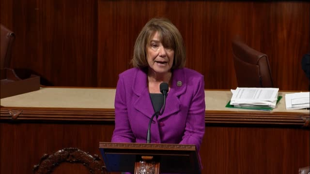 California Representative Susan Davis reads from a heartfelt constituent letter about the dire crisis in Puerto Rico after Hurricane Maria which says...