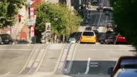 T/L, MS, USA, California, San Francisco, Busy street