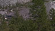 California, YosemiteMountain side