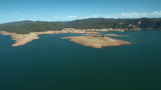 California's Lake Oroville During Drought