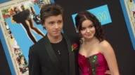 Callan McAuliffe Ariel Winter at the 'Prom' Premiere at Hollywood CA