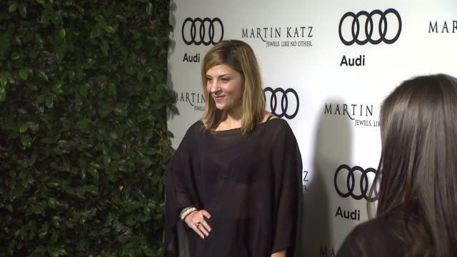 Callie Thorne at the Audi And Martin Katz Celebrate The 2012 Golden Globe Awards in West Hollywood CA