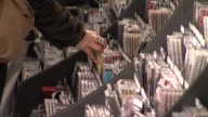 HMV calls in administrators at HMV Oxford Street on January 15 2013 in London England
