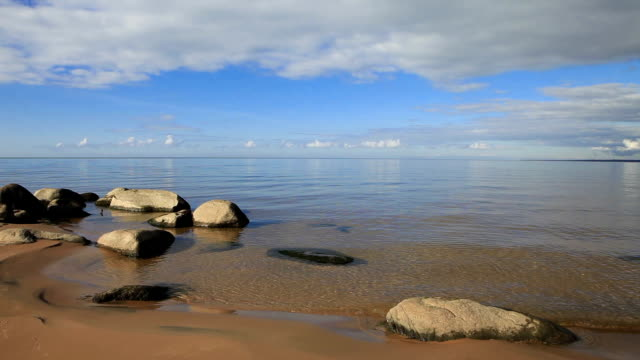 Calm Baltic Beach
