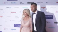 Calum Angie Best at The Fragrance Foundation Awards on May 12 2016 in London England