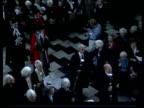 Cambridge University honours women who won degrees before 1948 ENGLAND Cambridge TGV Procession along past seated women graduates