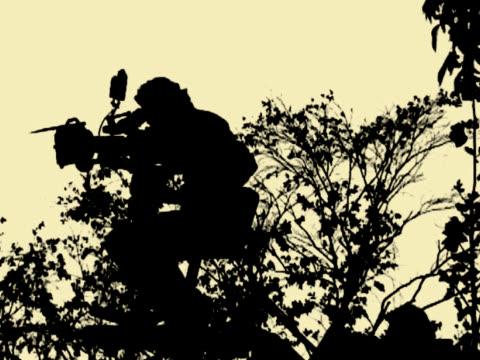 Kamera Mann Filmen