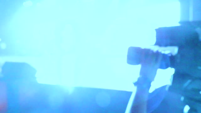 camera Man Rock Music Concert lights