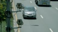 CCTV camera on the road