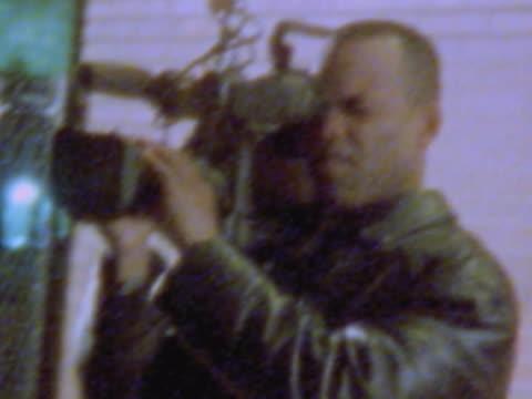 Cameraman shooting footage