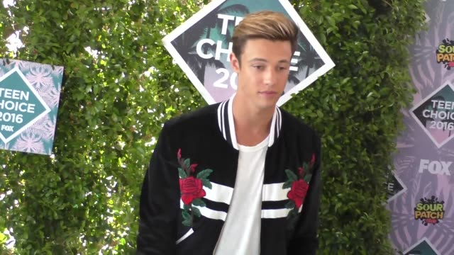 Cameron Dallas arriving to the 2016 Teen Choice Awards at The Forum in Los Angeles on July 31 2016 in Los Angeles California