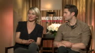 Cameron Diaz and Matthew Morrisson about parenthood fashion and hairstyles
