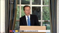 1430 1500 Cameron press conference SOT So we will now begin talks with other parties to see how this can be done / One option would be to give other...