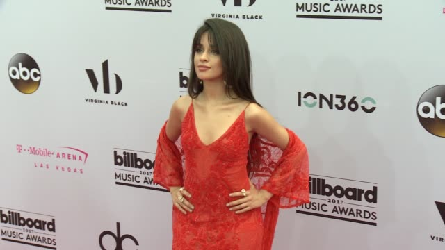 Camila Cabello at the 2017 Billboard Music Awards Arrivals at TMobile Arena on May 21 2017 in Las Vegas Nevada