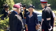 Camilla Duchess of Cornwall attends service for Commonwealth servicemen ENGLAND Sussex Hastings EXT Camillia Duchess of Cornwall arriving at the...
