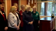 Camilla Duchess of Cornwall visit to Lincolshire South Women's Institute ENGLAND Lincolnshire PHOTOGRAPHY *** Camilla Duchess of Cornwall arrives by...