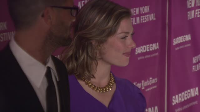 Camilla Rutherford at the New York Film Festival 'The Darjeeling Limited' Premiere Opening Night at Film Society of Lincoln Center in New York New...