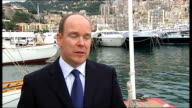 interview with Prince Albert II of Monaco Prince Albert II of Monaco interview SOT When you look at situation in Mediterranean and listen to...