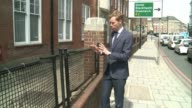 Campaign to save London's metal fences made from WW2 stretchers Reporter to camera