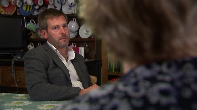 Campaigners call for tougher action on stalking Father with 'Alice Ruggles' wrist band Close shot father Sue Hills interview SOT She ticked every...