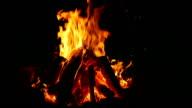 Campfire at night 4 - total