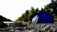 HD: Camping By The River