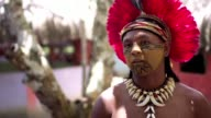 Campo Bahia sustainability Sirata the Pataxó amerindian and teacher about his view on theFIFA World Cup 2014 in Brazil