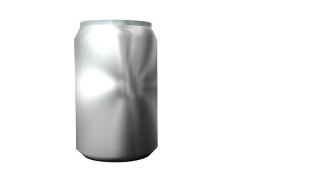 can of soda aluminum