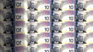 Kanada, dollar-Drucken-animation