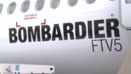 Canadian aircraft manufacturer Bombardier presents its forecast for the global market for regional aircraft at the Paris Air Show which remains...
