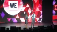 SPEECH Canadian Prime Minister Justin Trudeau and Sophie Grégoire Trudeau at WE Day UN at Madison Square Garden on September 20 2017 in New York City