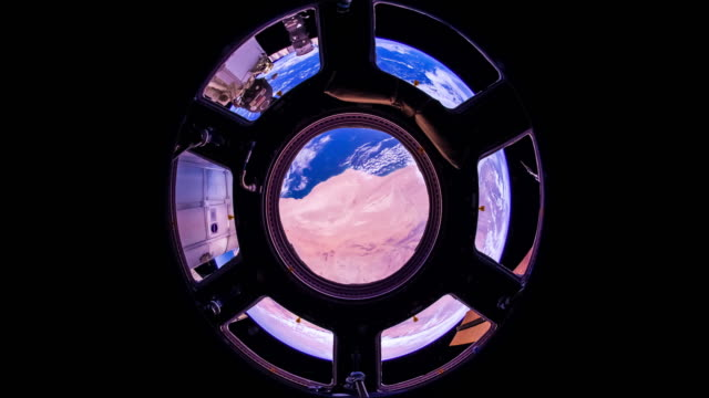 Canary Islands to Kerguelen Islands - ISS Timelapse