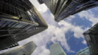 Canary Wharf towers POV.