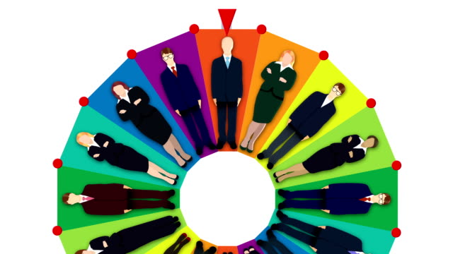 candidates Wheel of fortune (loopable)
