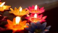 Kerze auf dem Wasser