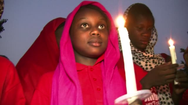 A candlelit vigil took place in Abuja on Tuesday to mark the anniversary of the abduction of 276 schoolgirls from Chibok by Boko Haram militants 219...