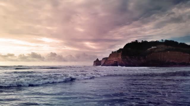 canoa Ecuador Playa lapso de tiempo Costa y un poco Casa