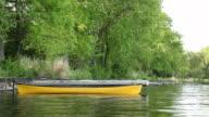 Canoe on Calm Lake