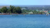 Canoe Races-Hilo, Hawaii