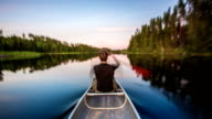 TIME LAPSE: Canoeing