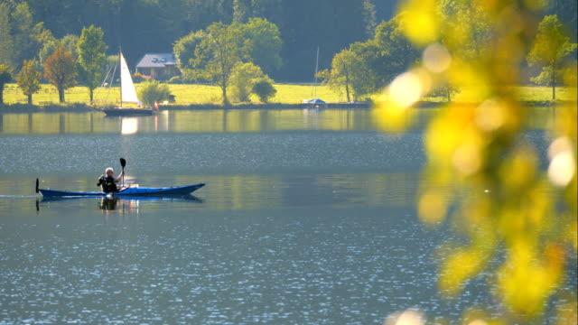 Canoes on Lake Hallstatt