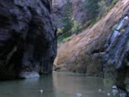 Canyon and river