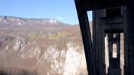 Canyon-Brücke – Luftaufnahme