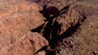 A canyon winds through the desert near Page, Arizona.