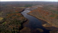 Cape Pond Near Napanoch  - Aerial View - New York,  Ulster County,  United States