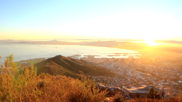 Cape Town Sunrise from above