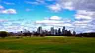 Capital Cities Zilker Park Austin Texas early spring 2016 timelapse fast motion cloudscape